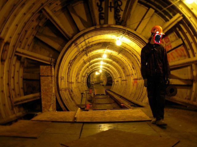 Silo tunnel